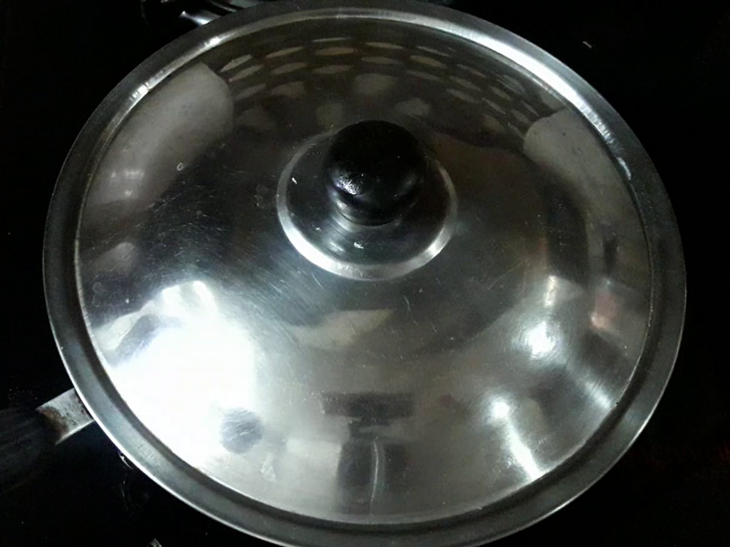 lid covered of pan