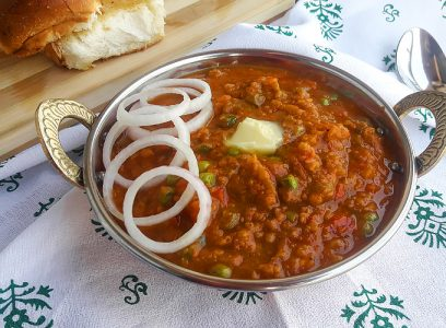 how to make pav bhaji recipe