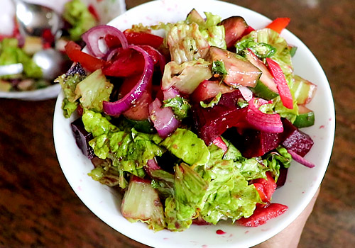 vegetable salad recipe steps-12